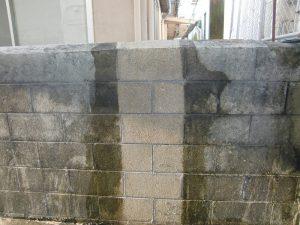 ブロック塀のコーティング