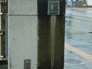 コンクリートのコーティング!右側はBefore、左側はafter