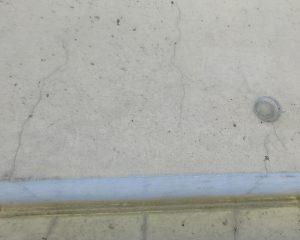 漏水の原因は、コンクリートのクラックが多い